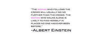 the woman who walks alone